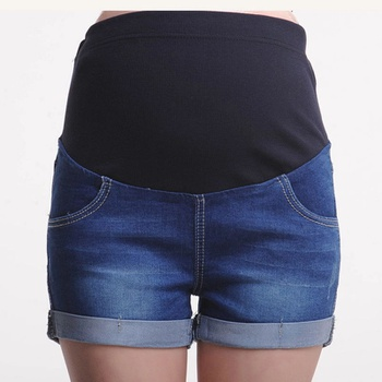 Pretty Maternity Denim Shorts