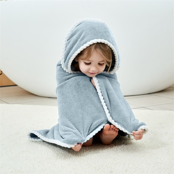 Cute Hooded Animal Baby Bathrobe Cotton Baby Spa Towel kids bath robe infant beach towels