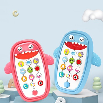 Cartoon Phone Kid Cellphone Telephone Educational Learning Toys Music Baby Infant Teether Phone Baby Gift teaching Toy