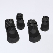 New dog shoes, luminous, waterproof, husky, golden retriever, bichon and other pet shoes
