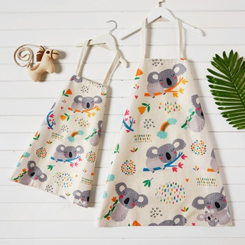 Koala Print Aprons for Mommy and Me
