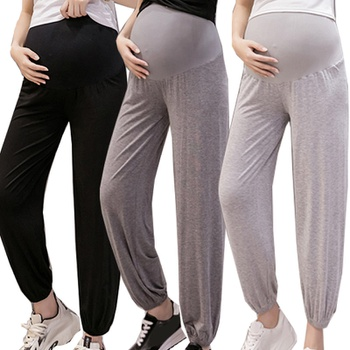 Maternity casual Plain Casualankle-length ankle-length pants