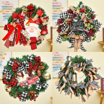 Cute Small Hanging Christmas Garland Home Decoration