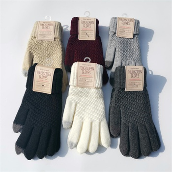 Winter Knitted Gloves Touch Screen High Quality Mitten