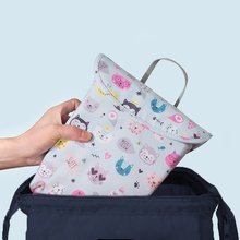 Cartoon Print Animal Waterproof Hanging Cloth Diaper Wet/Dry Bags