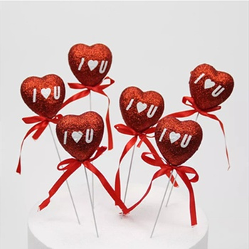 Heart Foldable Confession Love Balloon Birthday Cake Dessert Table Valentine's Day wedding Decoration