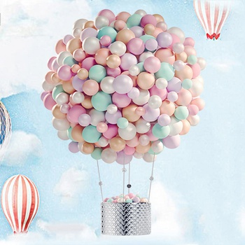100-pcs Pure Color Pearl Latex Balloons Wedding Balloons Birthday Party decoration Supplies