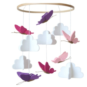Cloud Butterfly Pendant Room Decoration Photography Props