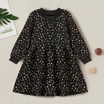 Kids Girl Stars Allover Dress