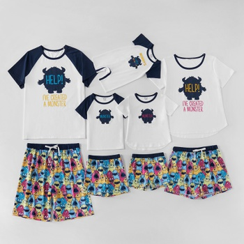 Mosaic Monster Series Family Matching Sets
