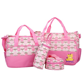 New Upgraded Multifunctional Waterproof Mummy Bag Five-piece Set To-be-manufactured Handbag