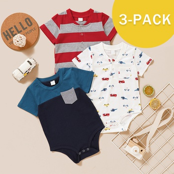 Baby Boy casual Vehicle Rompers & Bodysuits