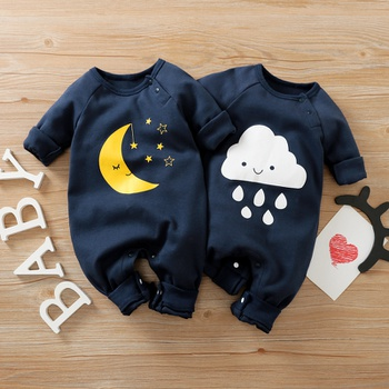 Baby Moon and Cloud Jumpsuit