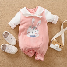 Baby Girl Sweet Animal & Rabbit Jumpsuits