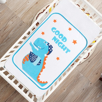 Cartoon Dinosaur Waterproof Washable Baby Changing Pad