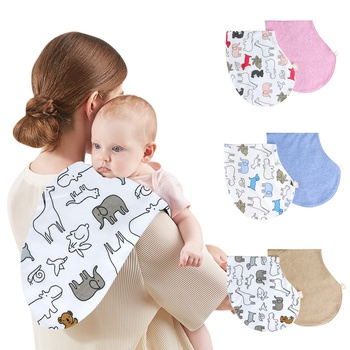 Mom Baby Care Baby Hiccup Towels 2 pieces