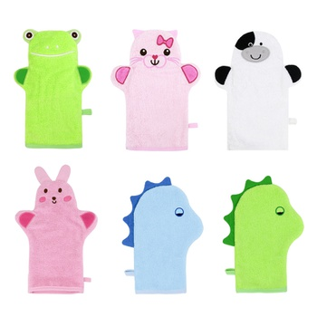Mom's Care Baby Bath Wipe Cartoon Baby Bathrobe Cotton Baby Spa Towel Kids Bath Robe Infant Beach Towels