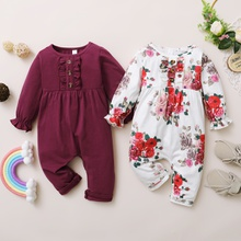 Baby Girl Solid Jumpsuits