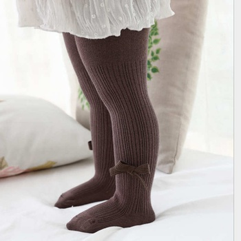 Baby / Toddler Solid Bowknot Tights