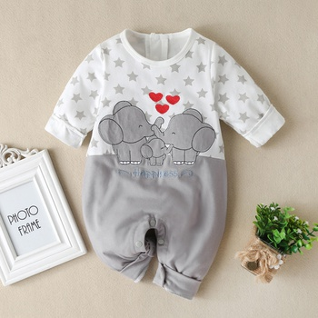 Baby Elephant Animal Jumpsuit