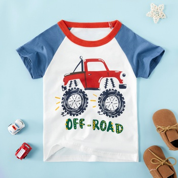 Baby / Toddler Boy Stylish Car Print Tee