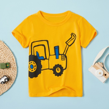 Baby / Toddler Boy Adorable Excavator Print Tee