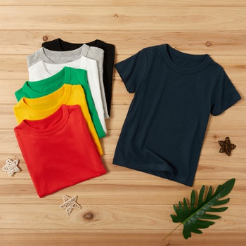 Baby / Toddler Casual Solid Tee