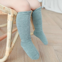 Baby / Toddler Solid Middle Socks