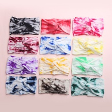 Baby / Toddler Pretty Tie-dyed Knot Headband