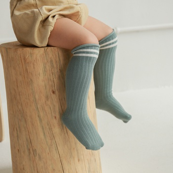 Baby / Toddler Striped Middle Socks