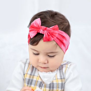 Baby / Toddler Pretty Tie-dyed Bowknot Headband