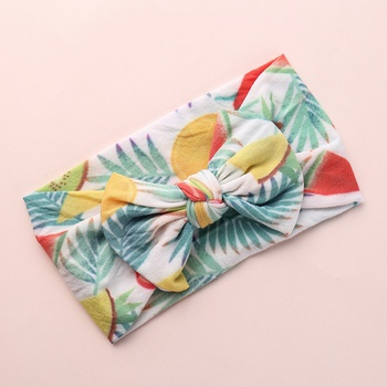 Pretty Fruit Print Bowknot Hairband for Girls