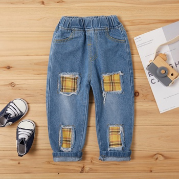 Baby / Toddler Boy Trendy Ripped Jeans