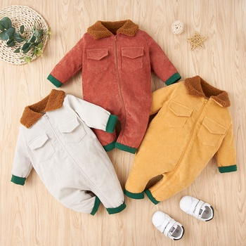 Baby Stylish Solid Jumpsuits