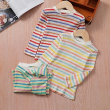 Baby / Toddler Casual Slim Striped Long-sleeve Tee