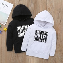 Baby / Toddler Pretty Letter Print Hoodie