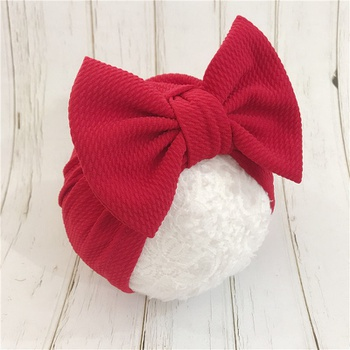 Baby/ Toddler Girl's Solid Bowknot Decor Hat