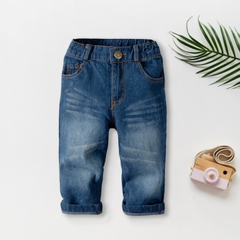 Baby / Toddler Causal Solid Jeans