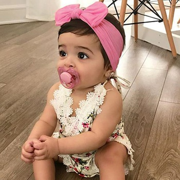 Baby / Toddler Bowknot Solid Cotton Headband