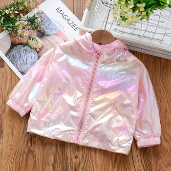 Baby / Toddler Cool Colorful Hooded Sunproof Coat
