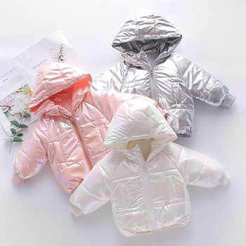 Baby / Toddler Cool Fashionable Long-sleeve Hooded Cotton Quilt Coat