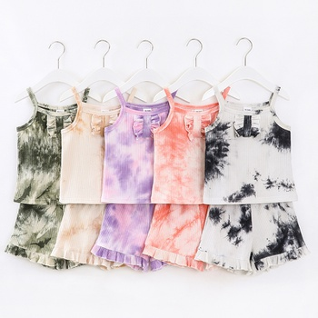 2-piece Baby / Toddler Tie-dye Camisole and Shorts Set