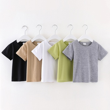Baby / Toddler Casual Basic Solid Tee