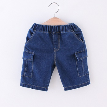 Toddler Boy Casual Street style Jeans Shorts