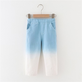 Toddler Stylish Tie Dyed Colorful Pants