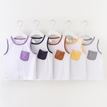 Baby/Toddler Color Contrast Pocket Vest