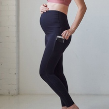 Sports Solid Maternity Leggings