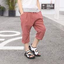Stylish Striped Elasticized Pants