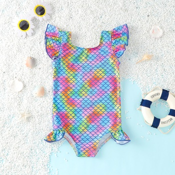 Baby Girl Sea Swimsuit Mermaid Baby Clothes