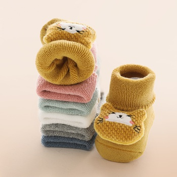 Baby / Toddler Cute Cartoon Animal Thermal Socks